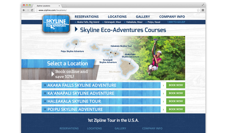 Skyline Eco Adventures